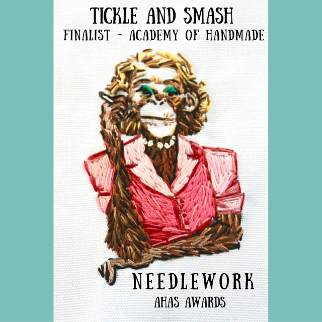 Tickle And Smash Finalist Embroidery Academy of Handmade